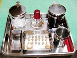 鍼灸治療の道具の写真